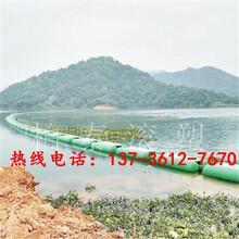 河道环保塑料拦污浮筒批发价格图片