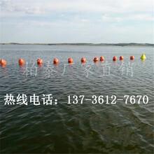 穿绳警示浮球水面隔离浮球图片
