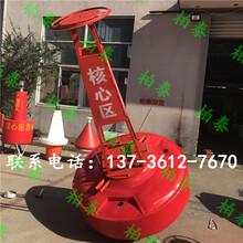 九江河道警示浮标塑料浮标厂家图片