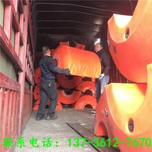 河道疏浚大口径管道浮筒图片