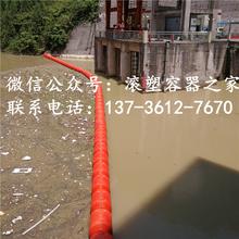 水电站夹网拦污浮筒图片