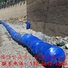 介绍水库拦污漂排浮筒工艺图片