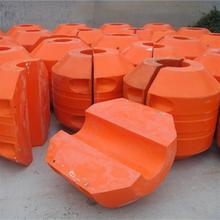 水上排泥管道浮体聚乙烯浮体加工图片