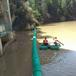 漫湾水电站进水口拦漂装置浮筒式拦污排厂家