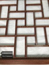 江苏仿红色木纹不锈钢屏风管焊接不锈钢屏风转印木纹表面效果图片
