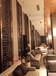 定制澳門酒店金屬雕花不銹鋼屏風異形背景墻造型