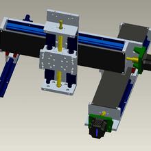 供应厂家直销直线滑台模组、十字滑台导轨滑台电动滑台