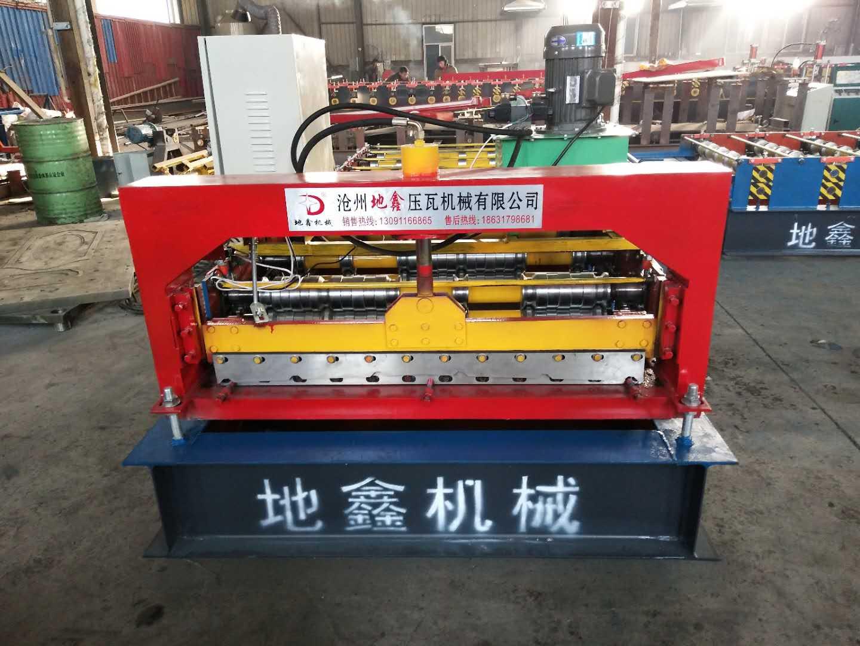 供应地鑫销售铁皮瓦机器 一机两用的840/900双层彩瓦... -慧聪网