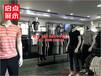 火爆的服装店铺陈列中的几个技巧问题km时尚服装货架