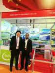 河北诺维公司光伏产品首次亮相迪拜太阳能展图片