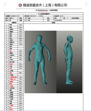 精迪供应头部数据采集器,颈部扫描仪,帽子定制,西服定制,枕头定制仪
