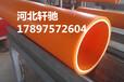 黑龙江聚丙烯电力管厂家批发电缆用MPP电力管型号表