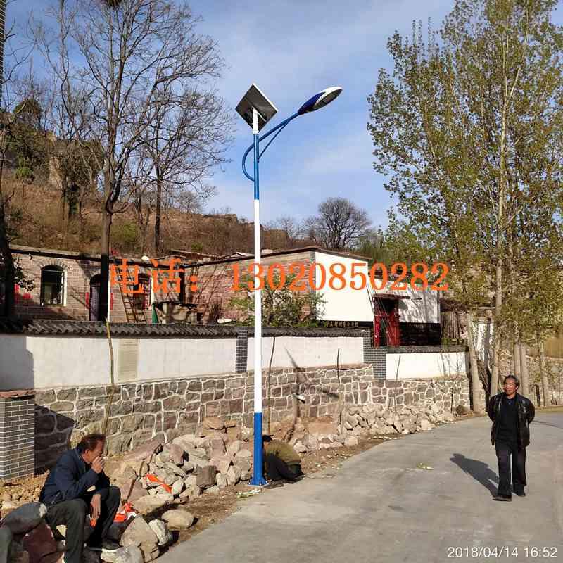 临汾太阳能路灯灯杆价格,临汾安泽县LED路灯价格合理6米太阳能路灯