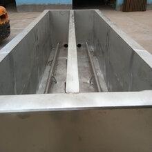流水线用不锈钢鸭鹅蜡池图片
