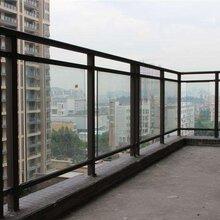 广东茂名碧桂园万科住宅区阳台栏杆图片加工定做安装可咨询金栏焦生杠杠的图片