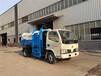 国五东风轻卡5吨侧装挂桶压缩式垃圾车,5吨自装卸式垃圾车
