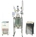 供应100L双层玻璃反应釜玻璃反应器乾正仪器