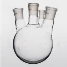 四川100L玻璃反应釜釜体玻璃反应釜配件图片