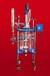 河北乾正儀器30L/50L/100L雙層玻璃反應釜高硼硅夾套反應釜廠家生產,現貨優勢供應