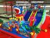 陕西游乐设备厂家充气城堡充气滑梯等儿童玩具直销