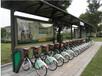 厂家定制自行车亭自行车棚校园候车亭销售至广西河池