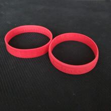 专业橡胶制品订做各种规格O型硅胶密封圈硅胶橡皮筋密封圈时尚手腕带硅胶配件图片