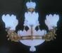 帝辰云石灯饰西班牙云石铜灯卧室大厅吊灯