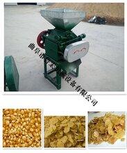 鲁宏粮食压扁机小麦挤扁机豆子专用挤扁机图片