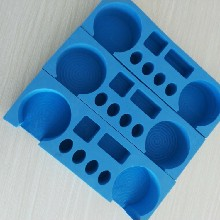 蓝色防静电托盘防震缓冲不吸水苏州厂家供应规格定制