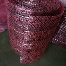 网格复合气泡膜苏州供应红色气泡膜