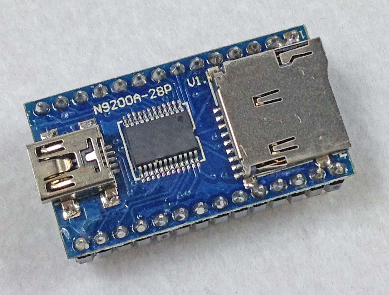 mp3音乐模块广州厂家直销语音芯片九芯串口n9200b