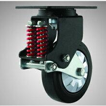 兄弟脚轮厂供应5-8寸重型减震脚轮