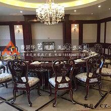 酒店宴会餐桌高档圆形餐桌智能电动圆餐桌CZ-001