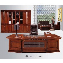 办公桌实木老板桌总裁办公台BG-BT-002