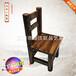厂价直销儿童用餐椅子学生成人碳化实木靠背小餐椅矮凳实木碳化家具