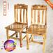 品艺实木椅子实力家具厂定制创意木质椅子结实耐用靠背凳椅