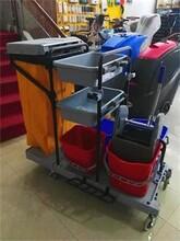金利洁多功能清洁车、专业清洁车保洁车图片