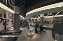 健身房装修设计_健身房装修效果图图片