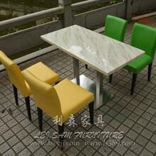 龙华酒店餐桌椅防火板椅可订制西餐厅桌椅餐桌椅