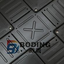 四川石油化工生产车间可调通风防静电地板安装图片