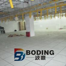 四川电子仪器厂装配车间全钢通风地板价格图片