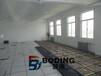 西藏石油化工生产车间全钢防静电通风地板安装