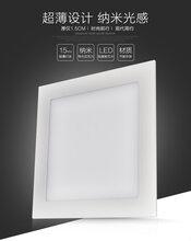 华涌LED面板灯超薄方灯灯厨卫灯平板灯超薄面板灯吸顶灯铝扣超薄图片