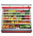 展示柜订制无锡丹佛厂家批发优质商超冷藏冷冻设备
