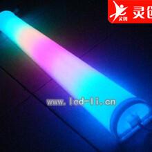 南京商业广场大楼亮化LED数码管外控出新颖时尚夜景效果,灵创照明图片