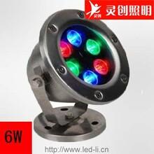 江西宜春LED水底灯批发IP68双重防水品质保证-灵创照明图片
