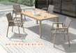 廣東戶外家具找誰配套休閑桌椅?實木、藤編沙發椅?
