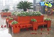 辽宁奇乐谷花盆花车花箱路边环保设施美化市容净化空气
