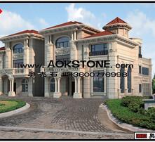 欧式风格 外墙 豪宅 石材