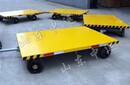 四輪轉向雨棚牽引平板拖車非標定制平板拖車廠家圖片